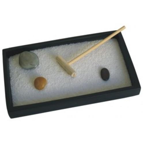 Giardino Zen rettangolare