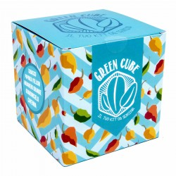 green cube - kit da semina peperoncini piccanti